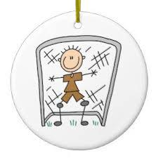 soccer goalie ornaments keepsake ornaments zazzle