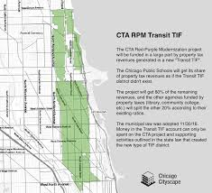 Map Of Cta Chicago by The Cta Will Raise Over 600 Million From This New Type Of Tif