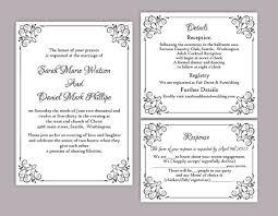 wedding invite templates printable wedding invitation templates printable wedding
