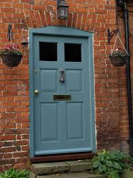 front door in farrow u0026 ball oval room blue west wycombe village