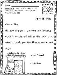 friendly letter writing worksheets worksheets