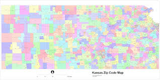 zip code map wichita ks kansas zip code maps free kansas zip code maps