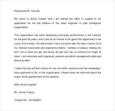 cover letter sales engineer cover letter example ideas mazury me