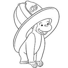 curious george coloring pages printable printable coloring