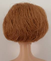how to cut a bubble cut hair style mattel vintage barbie doll red head side part tight bubble cut