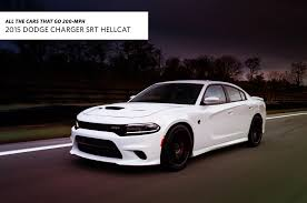2011 dodge charger top speed all the cars that go 200 mph