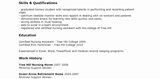 cna resume sle cna resume templates fresh resume templates for cna cna resume