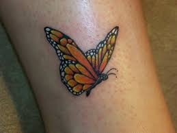 Butterflies Tattoos On - best 25 yellow butterfly ideas on monarch