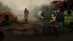 car junkyard netherlands junkyard by hiskohulsing animated short film