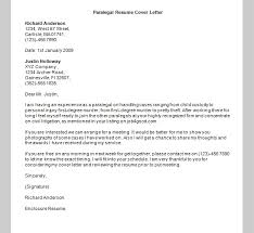 paralegal cover letter template sample templates