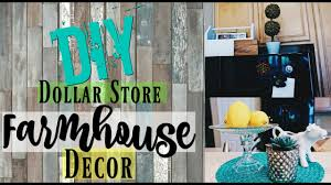 3 diy dollar store farmhouse decor shabby chic home decor ideas