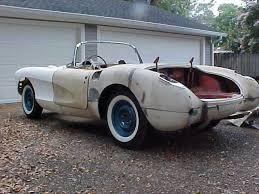 corvette project chevrolet corvette convertible 1957 white for sale e57s104334