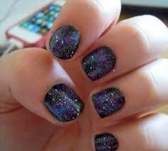 beauty ideas using a silver nail polish snapguide