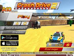 crash drive 2 free online games at agame com