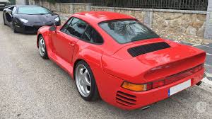 red porsche truck is this porsche 959 replica really worth 336k