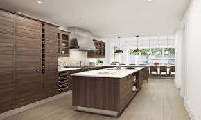 mahogany and white kitchen high end contemporary kitchen designs