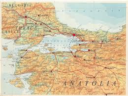 Istanbul Turkey Map Imperial Capitals Of Turkey Field Seminar Istanbul Iznik Bursa