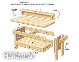 5 Workbench Ideas For A Small Workshop Workbench Plans Portable by Mini Classic Diy Workbench For Kids Family Handyman