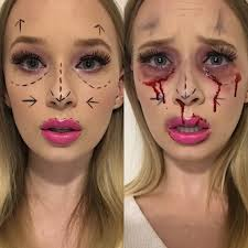 lexus amanda makeup tutorial 1 halloween look a day for october plastic surgery gone wrong