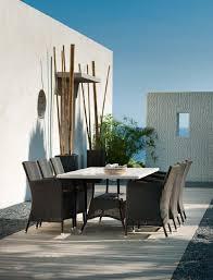the design pot cane line mesas sillaslounge muebles exteriores