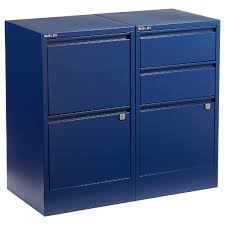 Bisley Filing Cabinet Bisley Oxford Blue 2 3 Drawer Locking Filing Cabinets The