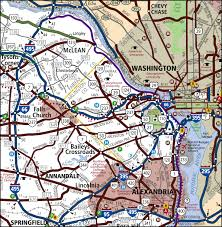 Washington Dc Subway Map Getting Around T U0026es City Of Alexandria Va