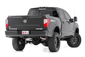 nissan armada lowering kit 6in suspension lift kit for 2017 4wd nissan titan pickups rough