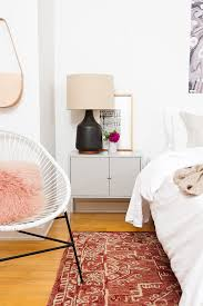 What Now Dream Bedroom Makeover - a minimal mid century master bedroom makeover paper and stitch
