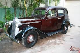 vintage opel car vauxhall 1937 holden body almost totally original from new in