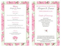 vow renewal ceremony program free vow renewal invitation suite pink roses with green wedding