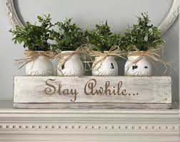 Rustic Shabby Chic Decor by Shabby Chic Mantel Etsy