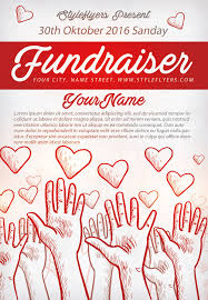 community fundraiser free flyer template download for photoshop