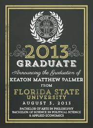 formal college graduation announcements college graduation invitation templates marialonghi