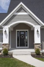 gable contrast siding shingle siding exterior house colors