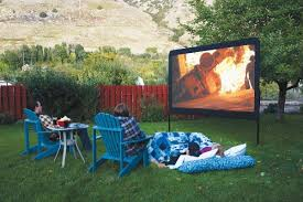 Outdoor Backyard Games Backyard Movie Screen U2013 Diy Outdoor Home Design Garden
