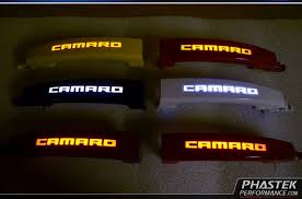 custom camaro accessories phastek 2010 2011 2012 2013 2014 2015 camaro illuminated door
