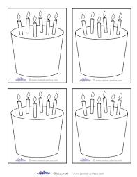 7 best images of printable template birthday cake birthday cake