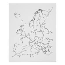 outline posters zazzle