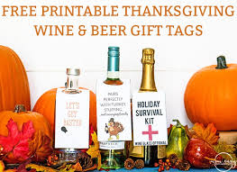 free printable thanksgiving wine gift tags 3 designs
