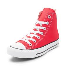 converse chuck taylor all star hi sneaker red 398566