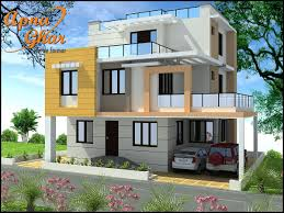 beautiful triplex house design along with commercial floor in