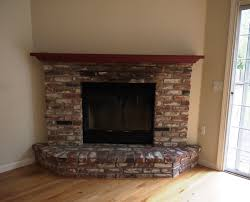 creative fireplace brick decor idea stunning beautiful on