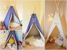 tente de chambre déco enfant une tente tipi dans la chambre paperblog