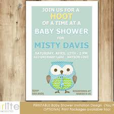 Owl Baby Shower Boy - shop blue and brown baby shower invitations on wanelo