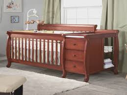 4 In 1 Convertible Crib With Changing Table Sorelle Tuscany 4 In 1 Convertible Crib And Changer