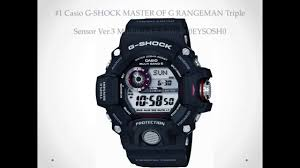Best Rugged Watches Top 10 Best Casio Watch Reviews Tough G Shock Black Watches For