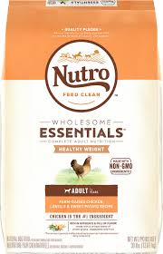 nutro wholesome essentials healthy weight farm raised