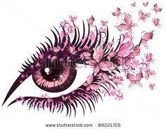 butterfly tattoos butterfly eye