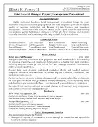 property management resume free sle general manager resume best of assistant property