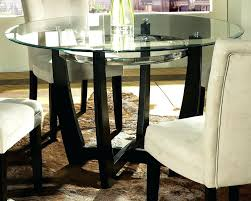 Pedestals For Glass Tables Counter Height Glass Dining Table U2013 Mitventures Co